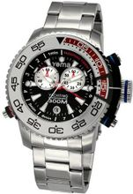 Yema COYMHF0211 Sous Marine Yachting Analog Display Analog Quartz Silver