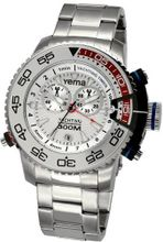 Yema COYMHF0212 Sous Marine Yachting Analog Display Analog Quartz Silver