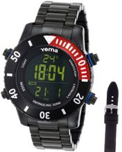 Yema COYMHF0310 Sous Marine Snorkeling Digital Display Quartz Black