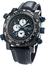 Yema YMHF0102 Master Elements Analog Display Analog Quartz Black