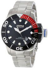 Yema YMHF0301 Sous Marine Analog Display Japanese Automatic Silver