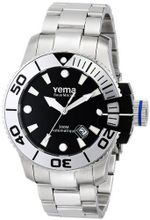 Yema YMHF0302 Sous Marine Analog Display Japanese Automatic Silver