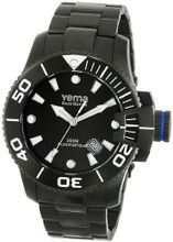 Yema YMHF0303 Sous Marine Analog Display Japanese Automatic Black