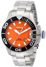 Yema YMHF0304 Sous Marine Analog Display Japanese Automatic Silver