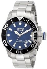 Yema YMHF0305 Sous Marine Analog Display Japanese Automatic Silver
