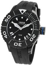 Yema YMHF0405 Sous Marine Lady Analog Display Analog Quartz Black
