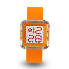 uZEROne Zerone Dazzled Transparent Orange Swarovski Crystal Digital