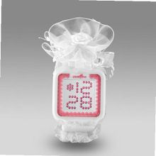 uZEROne Zerone Lolita White Pink Swarovski crystal Digital (White Lace)