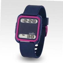 Zerone Bsquared 2 Ultra Slim Pink & Blue Aluminum Bezel Digital