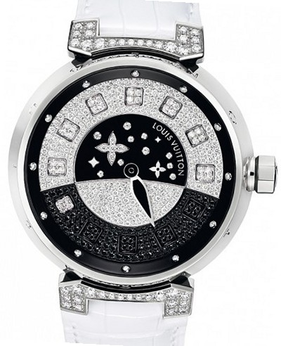 Louis vuitton tambour tambour spin time da donna tutti gli orologi - Porta orologi louis vuitton ...