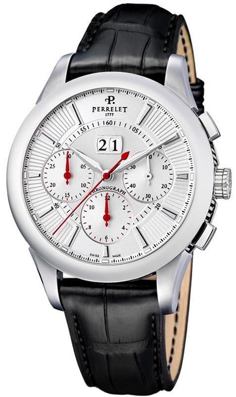 perrelet cronograph big date a1008  8  herren  schweiz